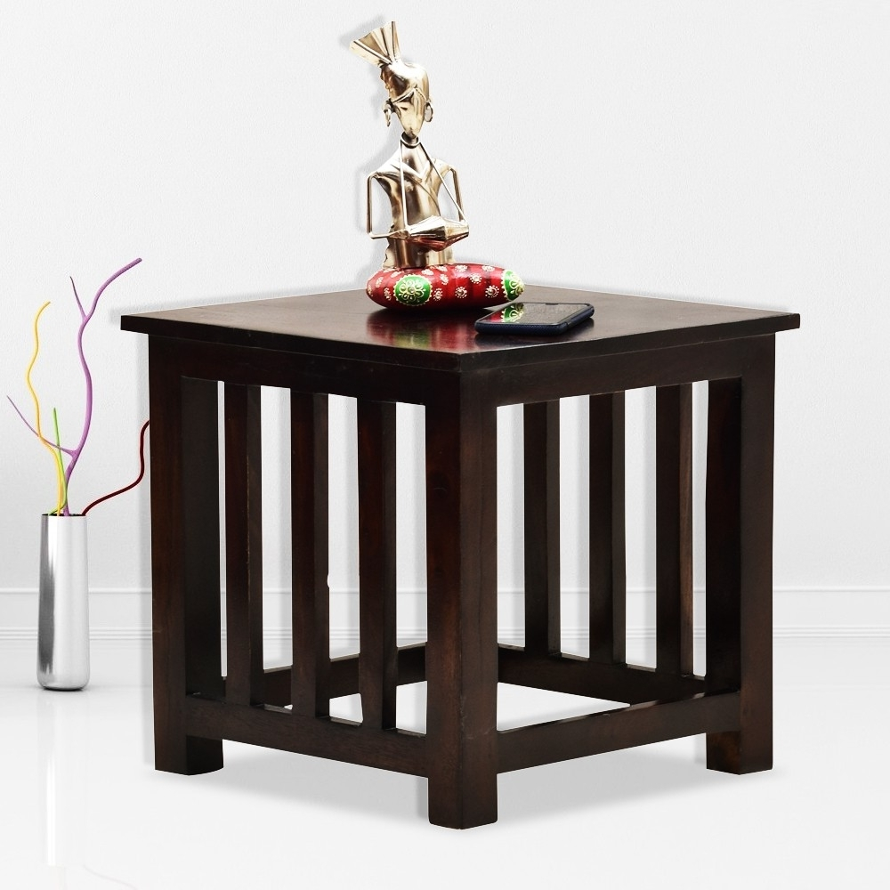 Current Naveen Coffee Tables With Deux Wooden Peg Side Table (View 11 of 20)