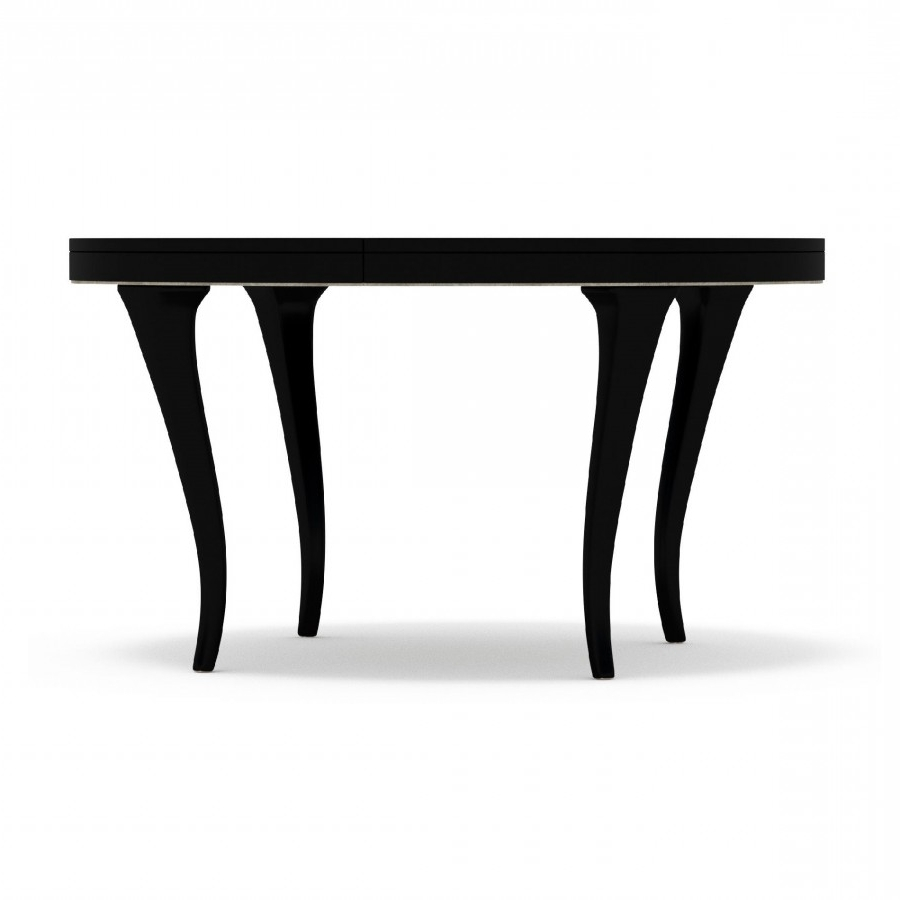 """Decor Market – Cynthia Rowley Bloom Round Dining Table (W/ One 20"""" Leaf) Regarding Trendy Torrin Round Cocktail Tables (View 3 of 20)"""