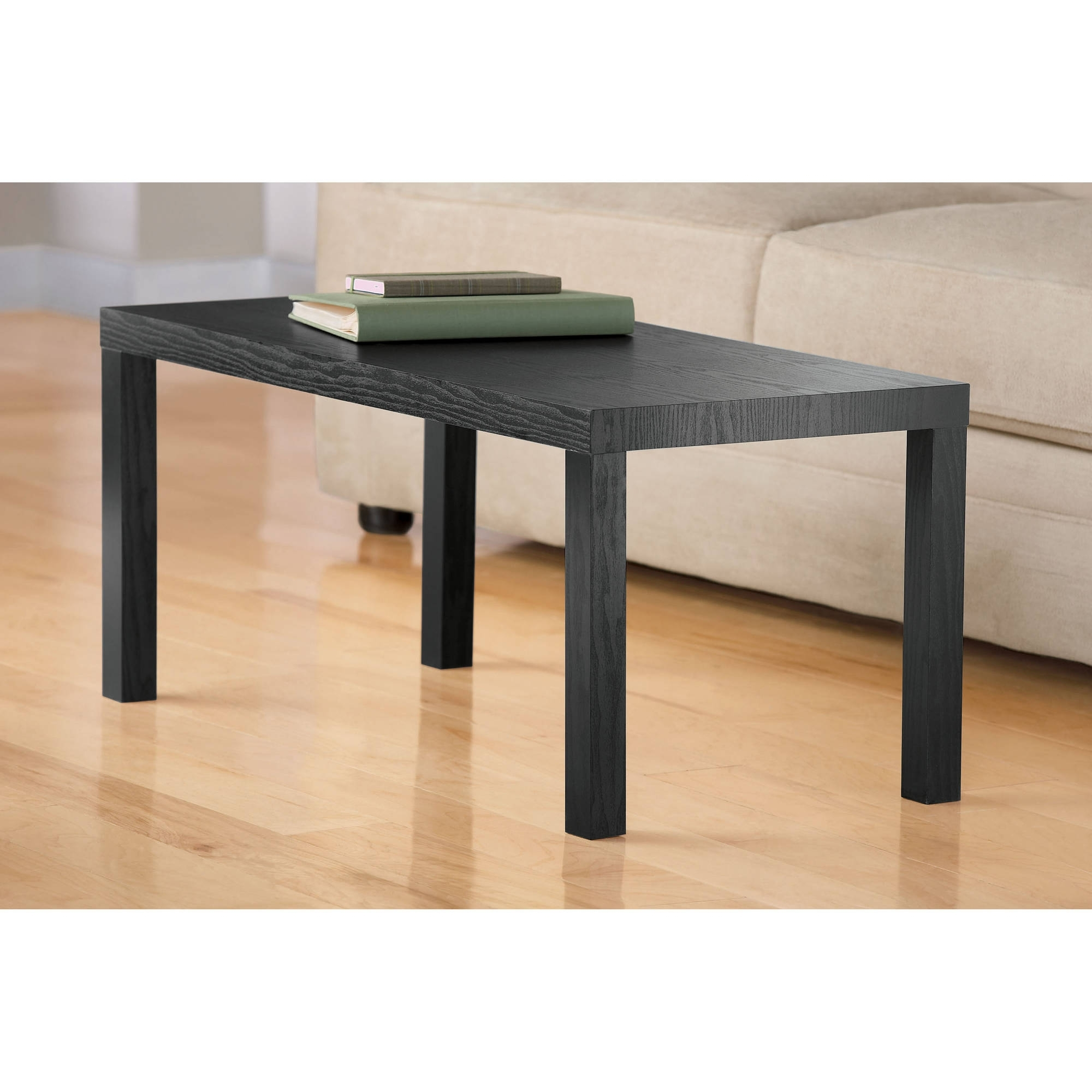Dhp Parsons Rectangular Coffee Table, Multiple Colors – Walmart Throughout Preferred Kai Small Coffee Tables (View 7 of 20)