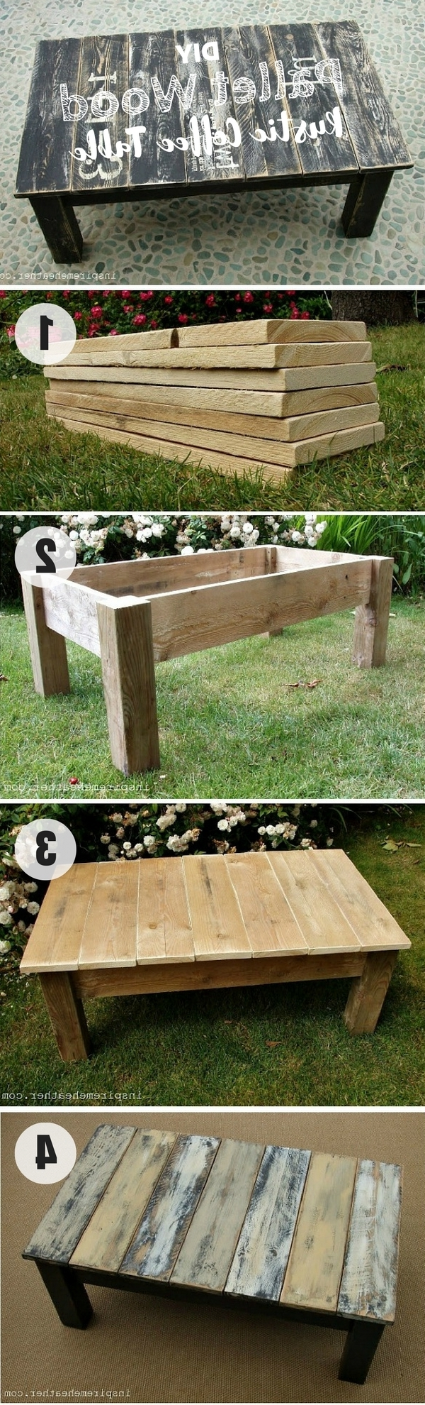 Diy Coffee Table – 40 Easy Ideas You Can Make On A Budget In Latest Jelly Bean Coffee Tables (View 14 of 20)