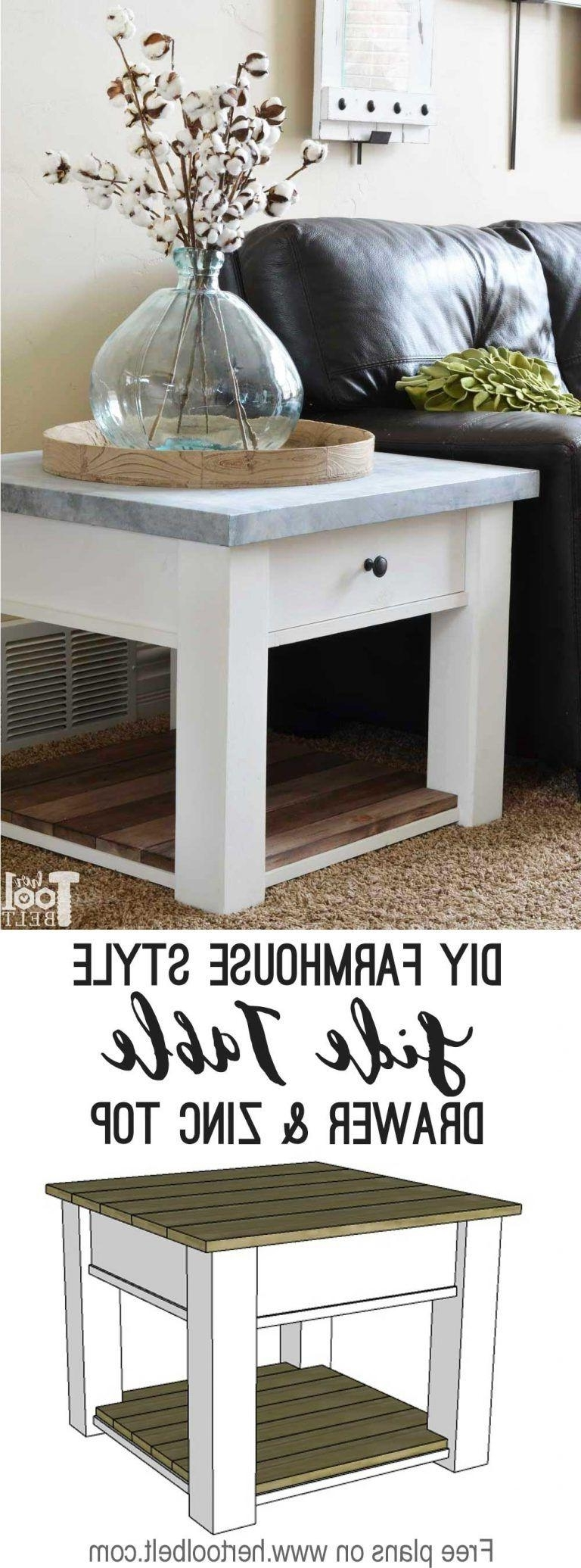 Diy Side Table Fresh 22 Coffee Table Woodworking Projects Worth Within Newest Fresh Cut Side Tables (View 5 of 20)