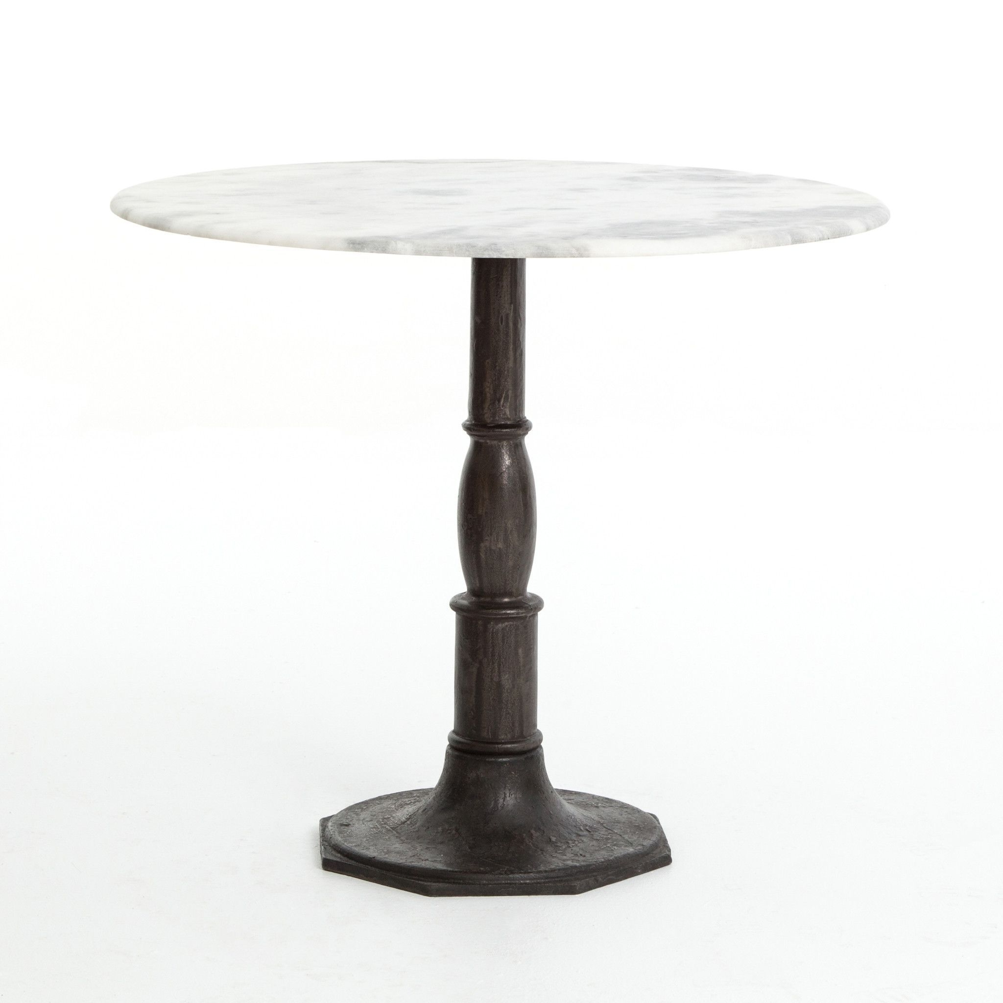 Donahue Bistro Table Carbon Wash (View 10 of 20)