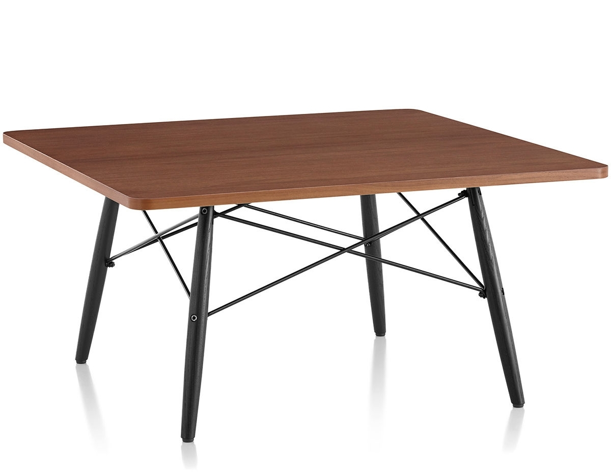 Eames® Square Coffee Table – Hivemodern Within Most Recently Released Expressionist Coffee Tables (View 7 of 20)