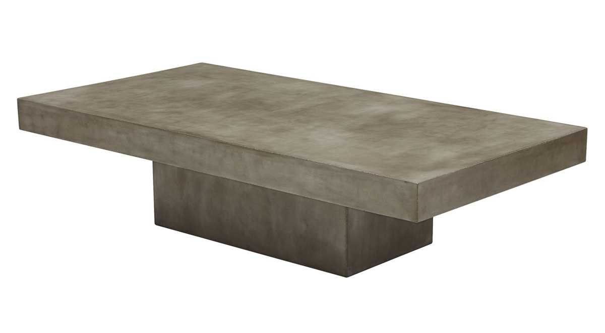 Element Grey Concrete Coffee Table – So That's Cool Inside Popular Element Coffee Tables (View 11 of 20)