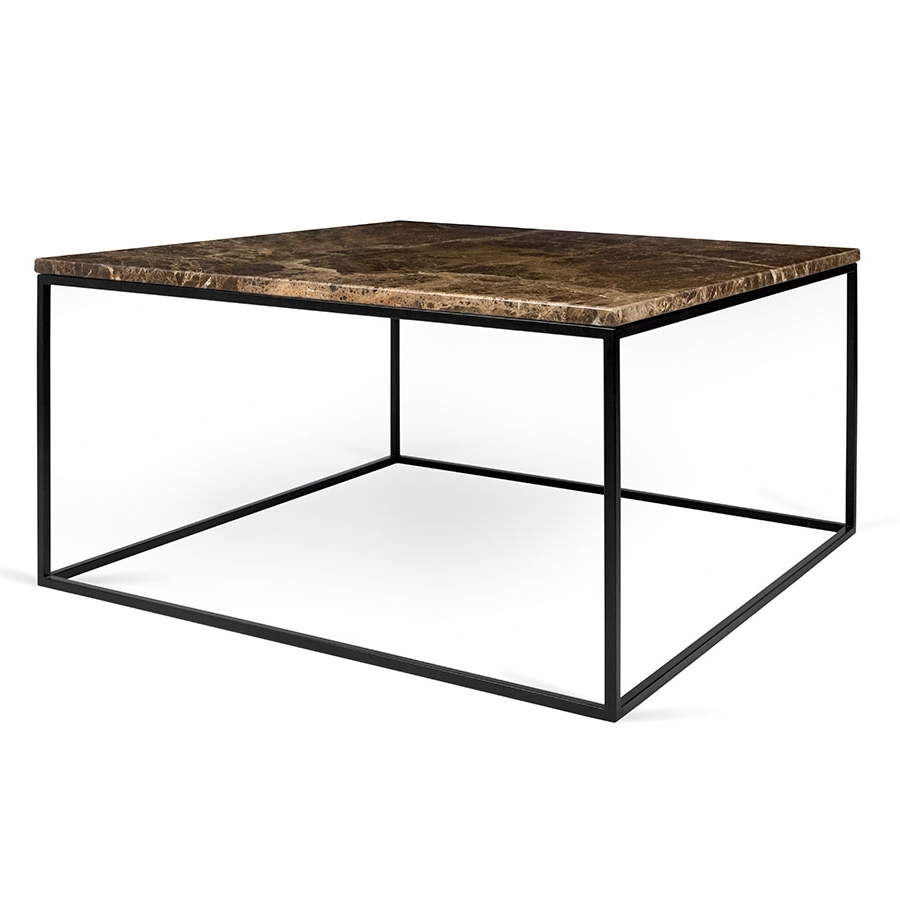 Eurway Within Newest Iron Marble Coffee Tables (Gallery 6 of 20)