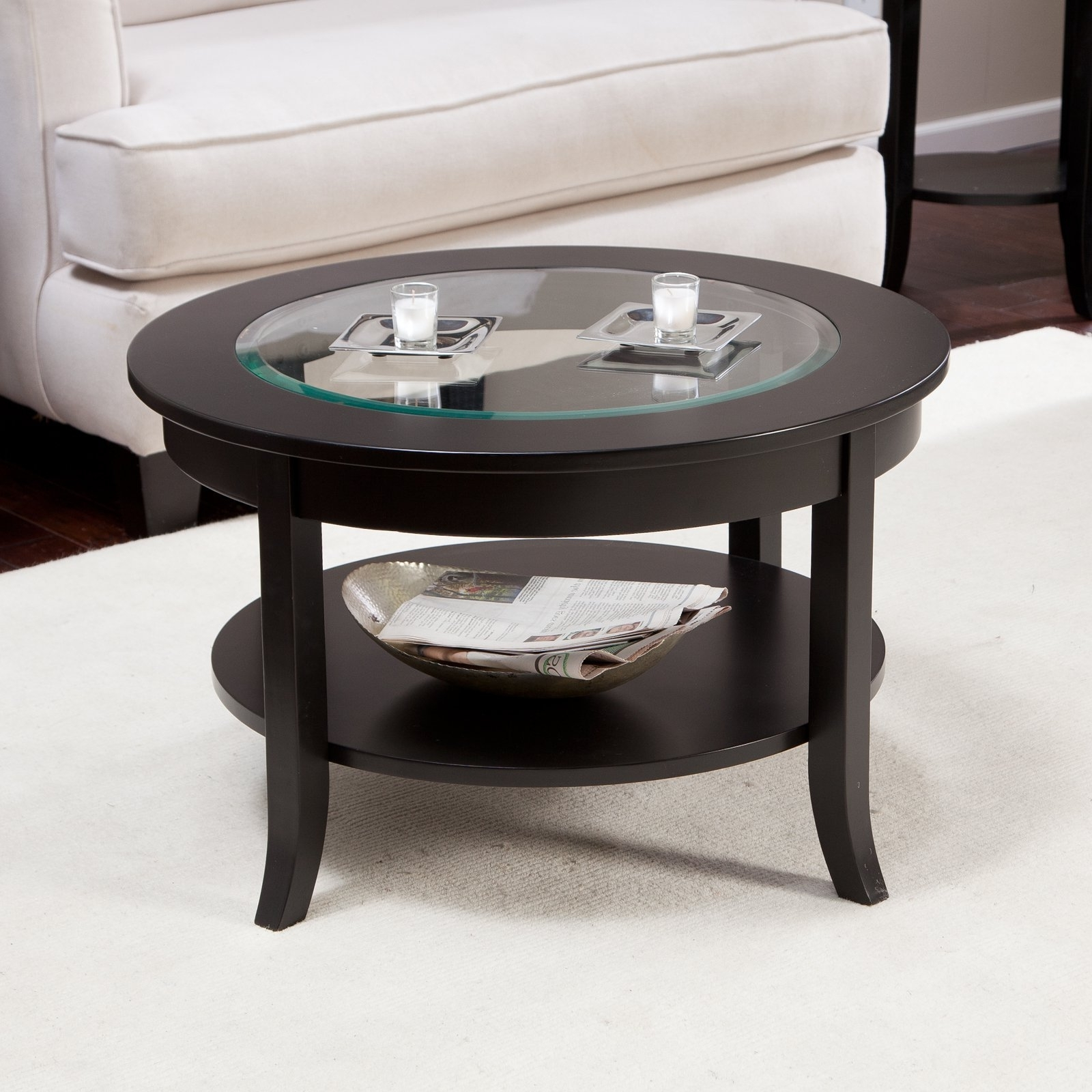 Exciting Small Glass Coffee Table Style Design (View 4 of 20)
