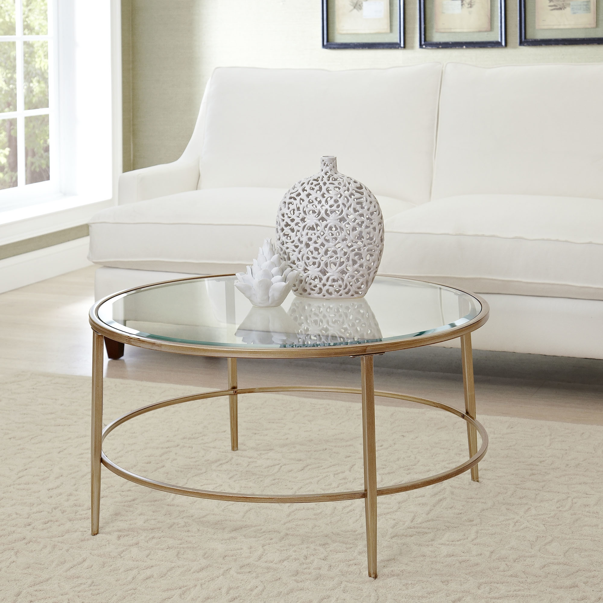 Exciting Small Glass Coffee Table Style Design (View 5 of 20)