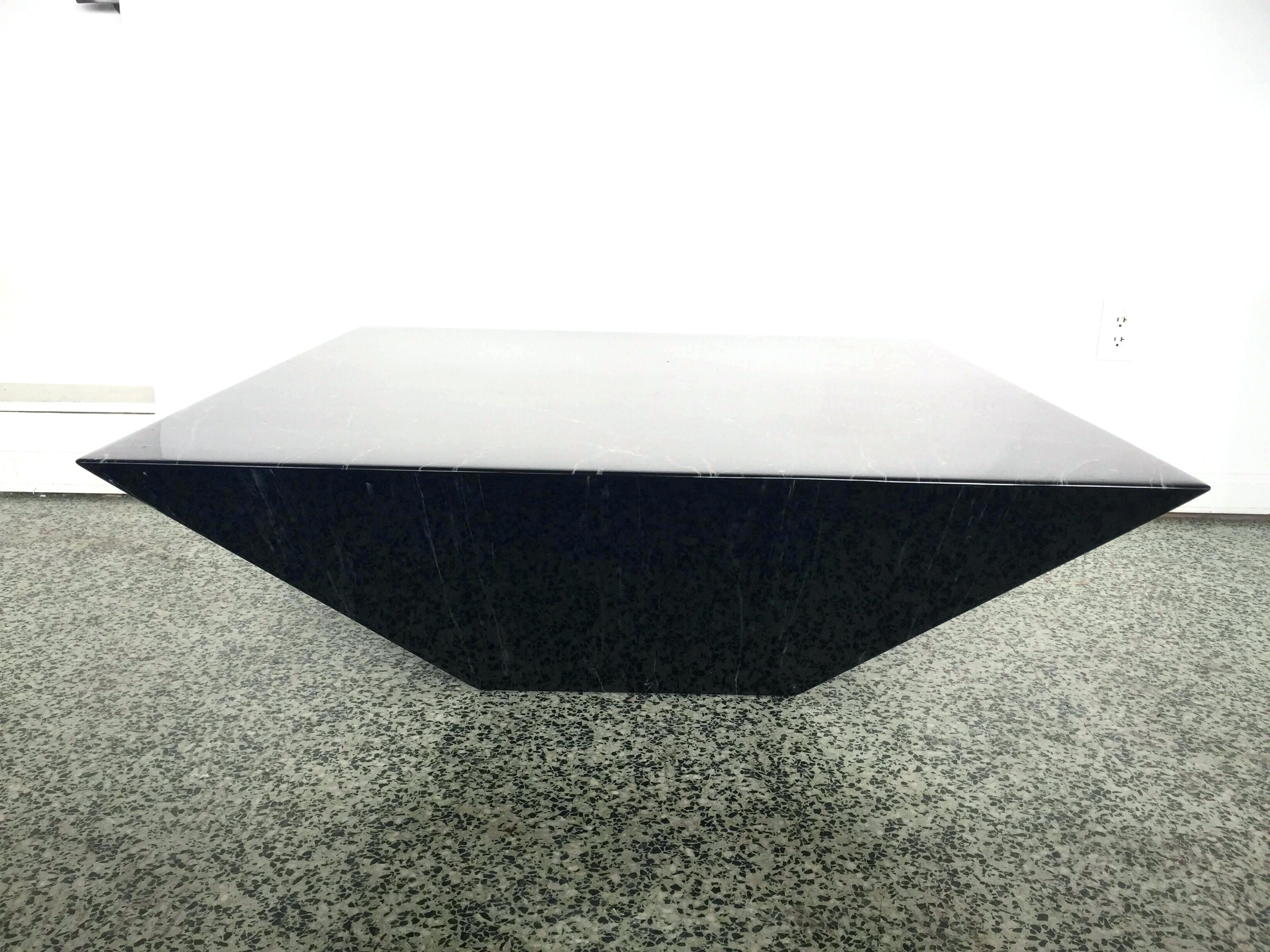 Famous Inverted Triangle Coffee Tables With Pyramid Coffee Table Black Pyramid Coffee Table Pyramid Trunk Coffee (View 3 of 20)