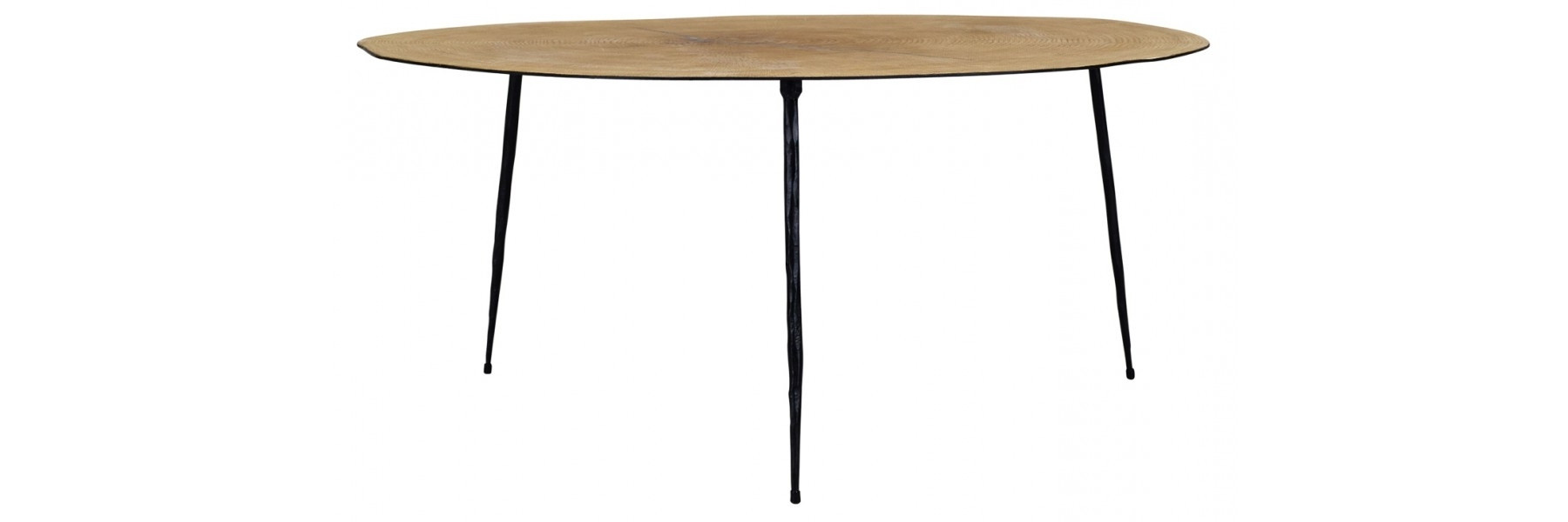 Famous Parker Oval Marble Coffee Tables Inside July Coffee Table Tall (View 3 of 20)