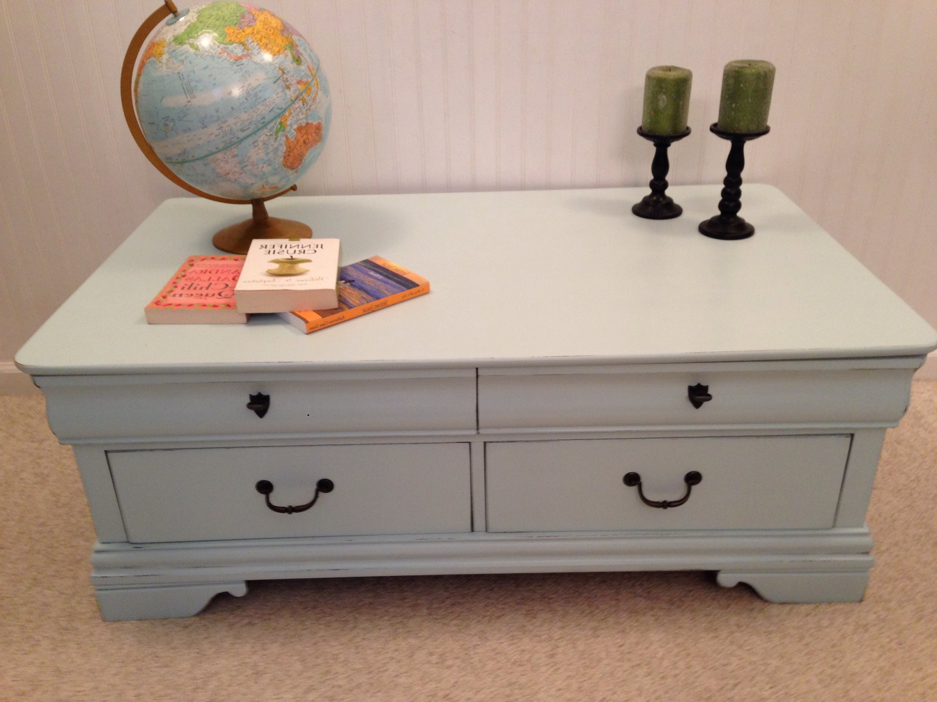 Famous Walnut 4 Drawer Coffee Tables With Broyhill 4 Drawer Coffee Table – Fresh Vintage Nc (View 13 of 20)