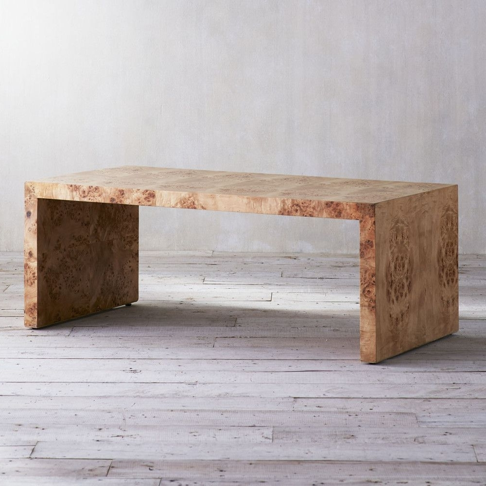 Featured Photo of Oslo Burl Wood Veneer Coffee Tables