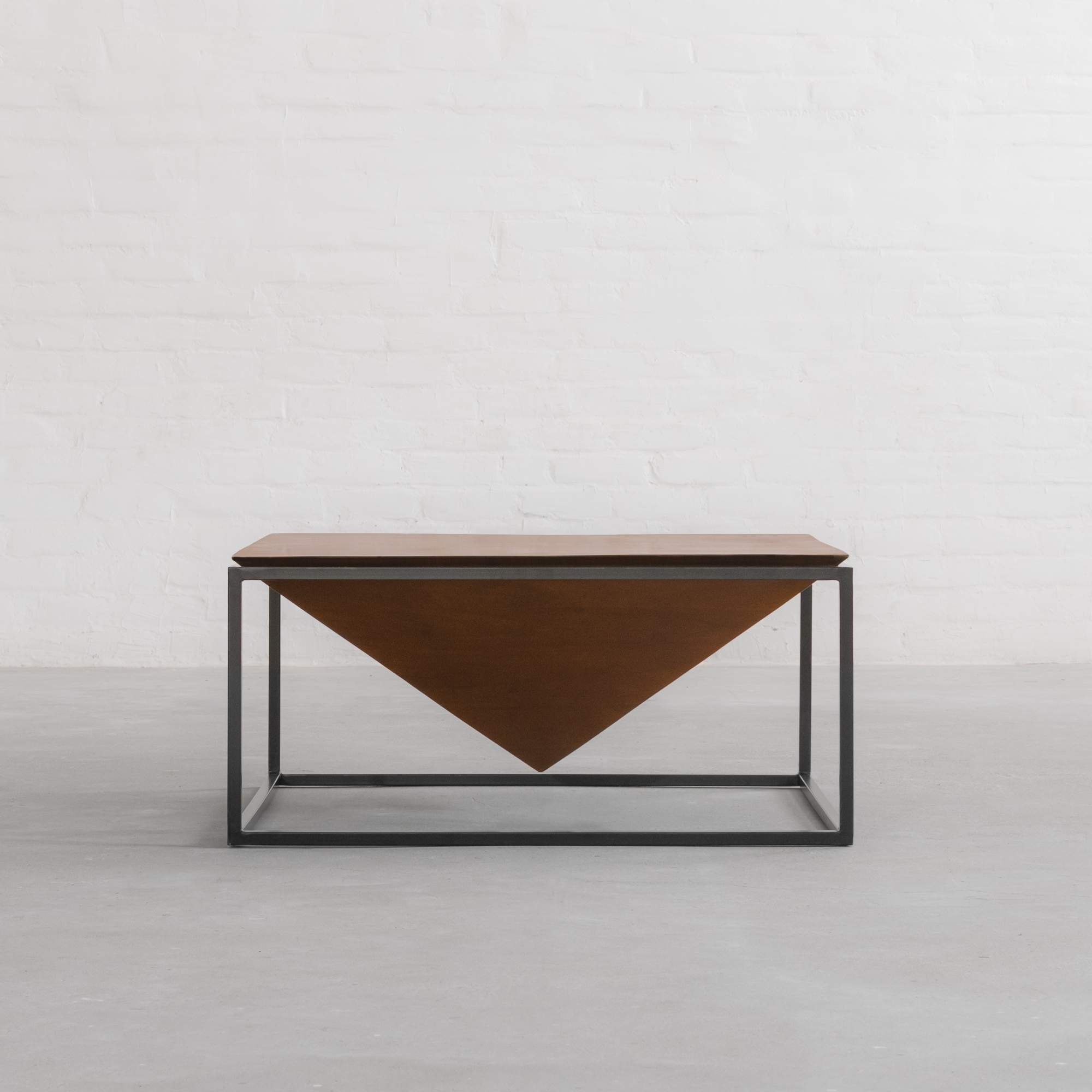 Fashionable Inverted Triangle Coffee Tables Intended For Louvre Coffee Table (View 9 of 20)
