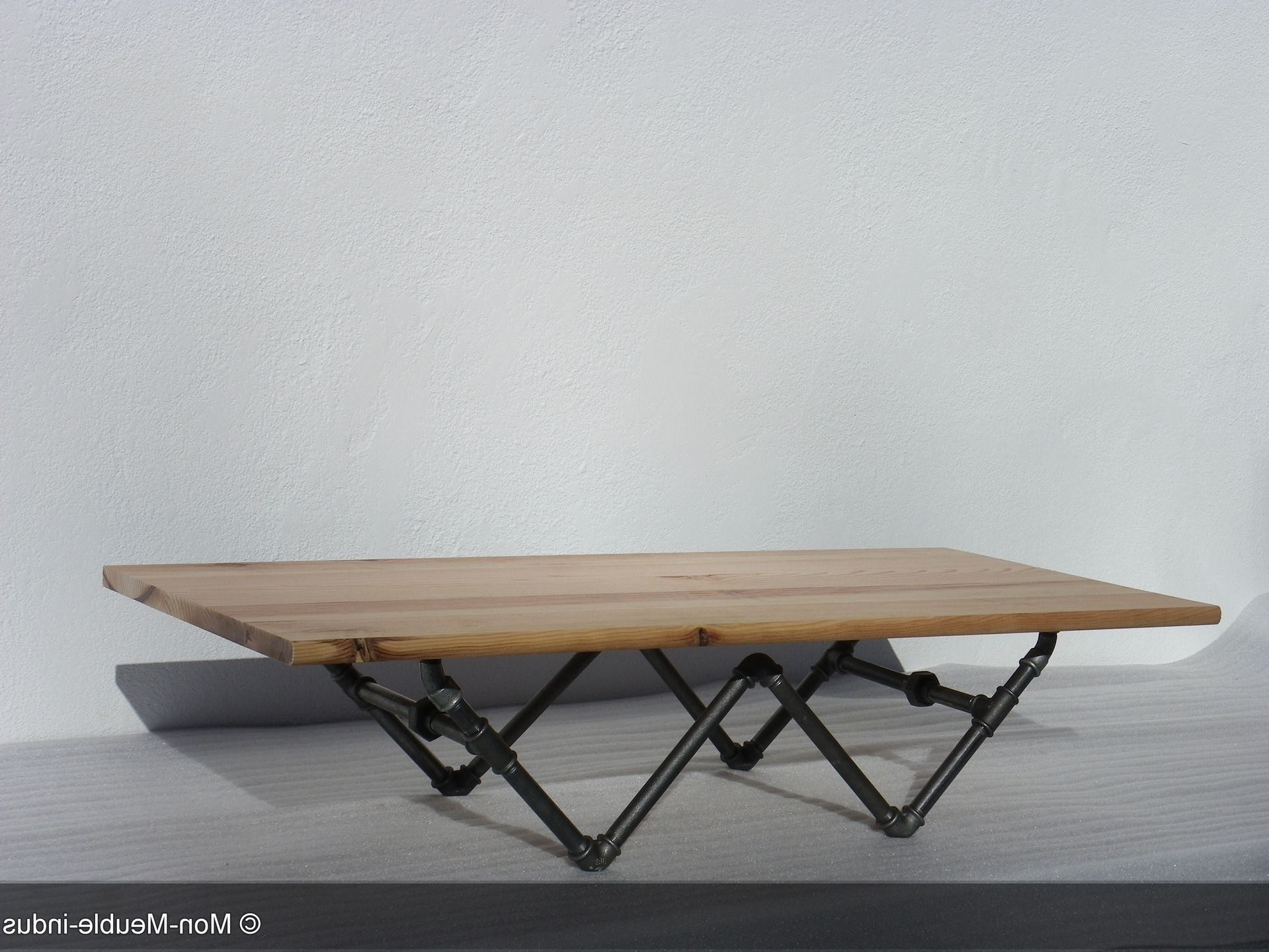 Fashionable Pine Metal Tube Coffee Tables Pertaining To Pinideaface Pipe Design On Pipe Project (View 19 of 20)