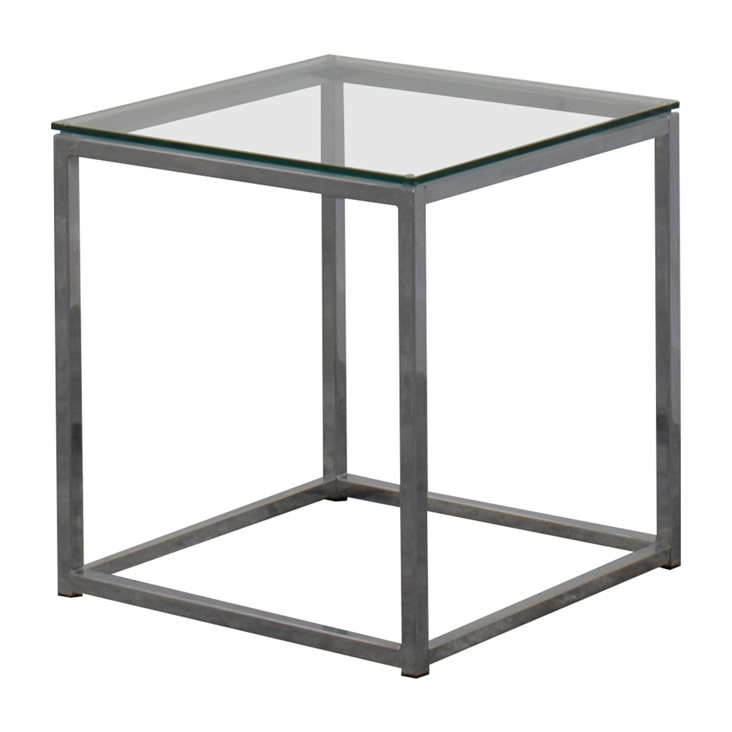 [%fashionable Smart Glass Top Coffee Tables Throughout 80% Off – Cb2 Cb2 Smart Glass Top Side Table / Tables|80% Off – Cb2 Cb2 Smart Glass Top Side Table / Tables Pertaining To Popular Smart Glass Top Coffee Tables%] (View 11 of 20)