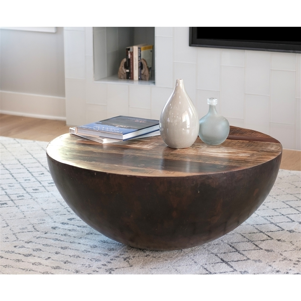 Fashionable Swell Round Coffee Tables Throughout Swell Round Coffee Table — New Home Design : Round Coffee Table (View 2 of 20)