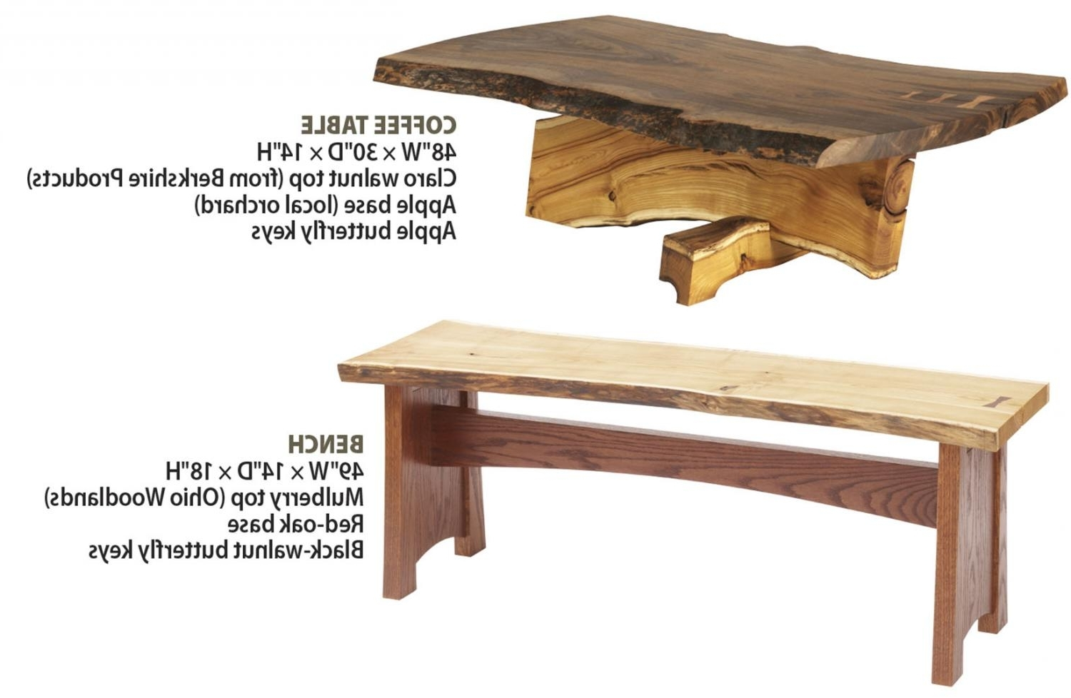 Favorite Chiseled Edge Coffee Tables With Regard To How To Work With Natural Edge Slabs (View 7 of 20)