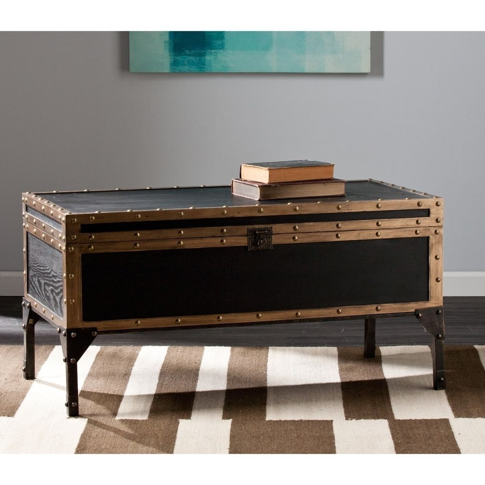 Favorite Cody Expandable Cocktail Tables Regarding Trunk Coffee Table Cocktail Traditional Living Room Decor Antique (View 4 of 20)