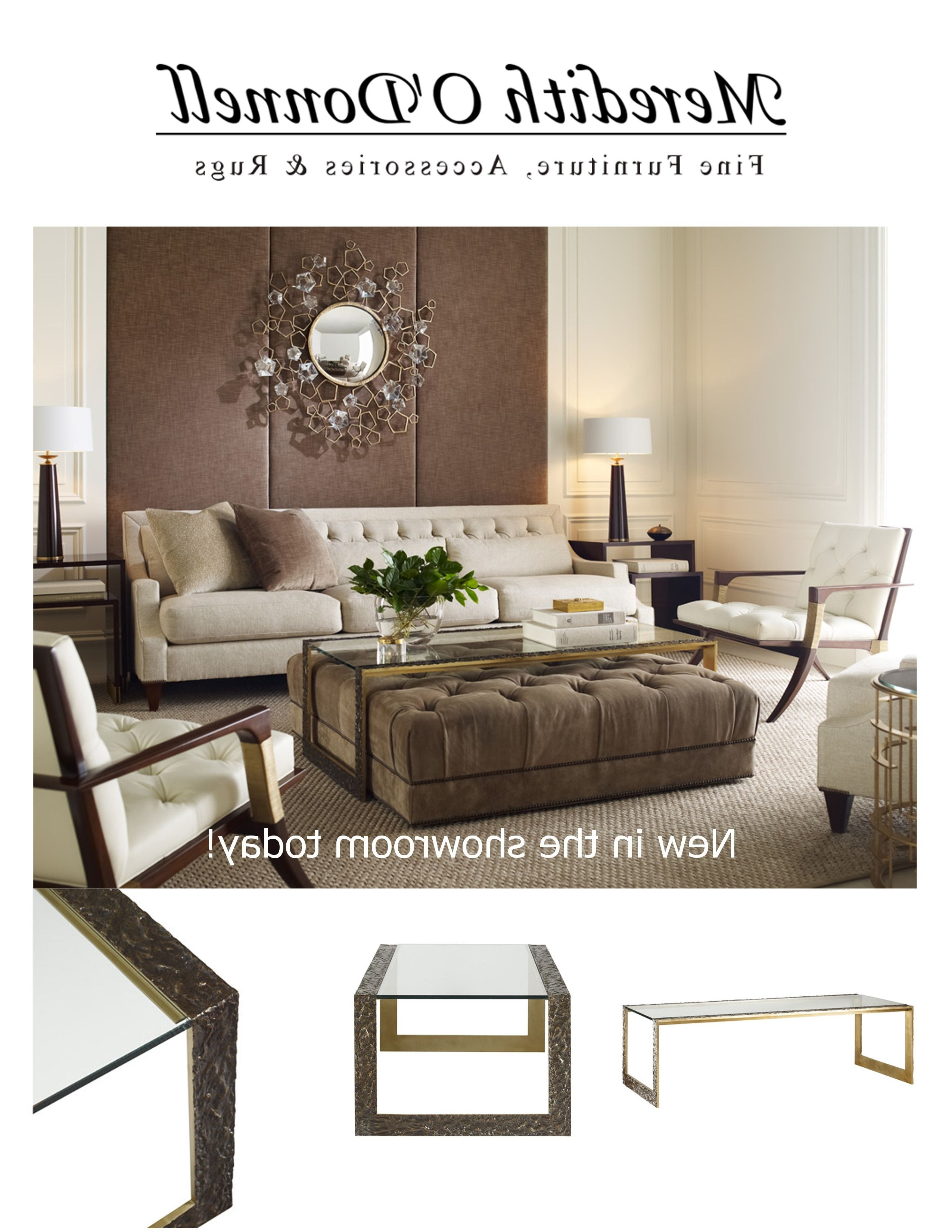 Favorite Donnell Coffee Tables Within New In The Showroom Today! One Of Many Superlative Pieces Designed (View 17 of 20)