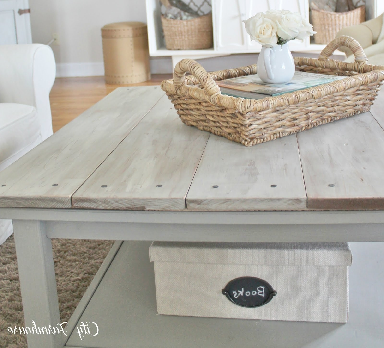 Favorite Limewash Coffee Tables Pertaining To Lime Wash Coffee Table – Writehookstudio (View 5 of 20)