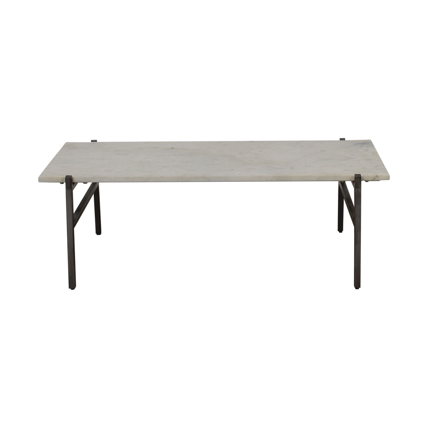 Featured Photo of Slab Small Marble Coffee Tables With Antiqued Silver Base