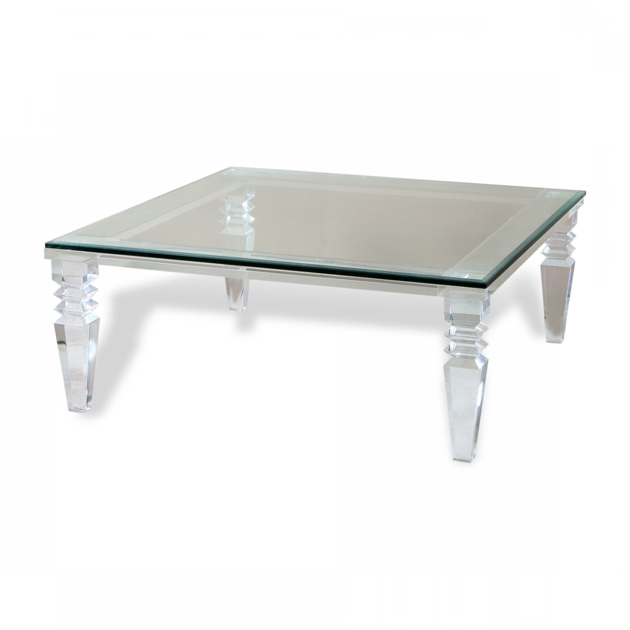 Favorite Square Waterfall Coffee Tables With Acrylic Waterfall Coffee Table Beautiful Acrylic Coffee Table (View 7 of 20)