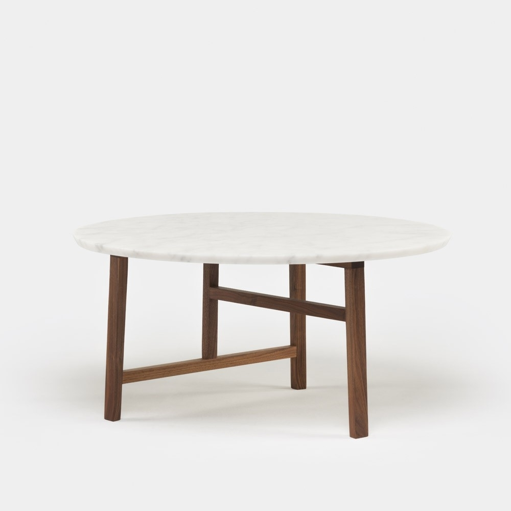 Favorite Suspend Ii Marble And Wood Coffee Tables Pertaining To Trio Marble Round Coffee Table (View 7 of 20)