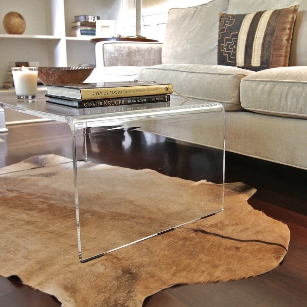 Favorite Waterfall Coffee Tables With Great Glass Waterfall Coffee Table With Coffee Table Appealing (View 7 of 20)