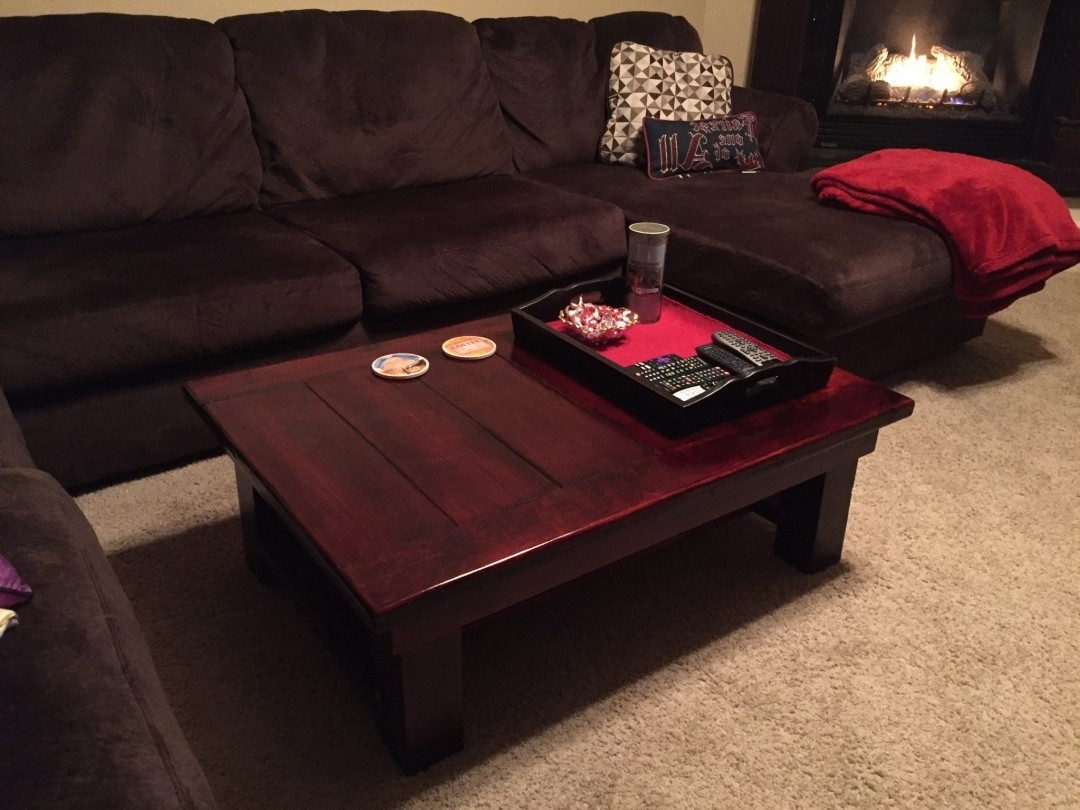 Flea Market Finds: Coffee Table Makeover – Two Jelly Beans Throughout Fashionable Jelly Bean Coffee Tables (View 13 of 20)