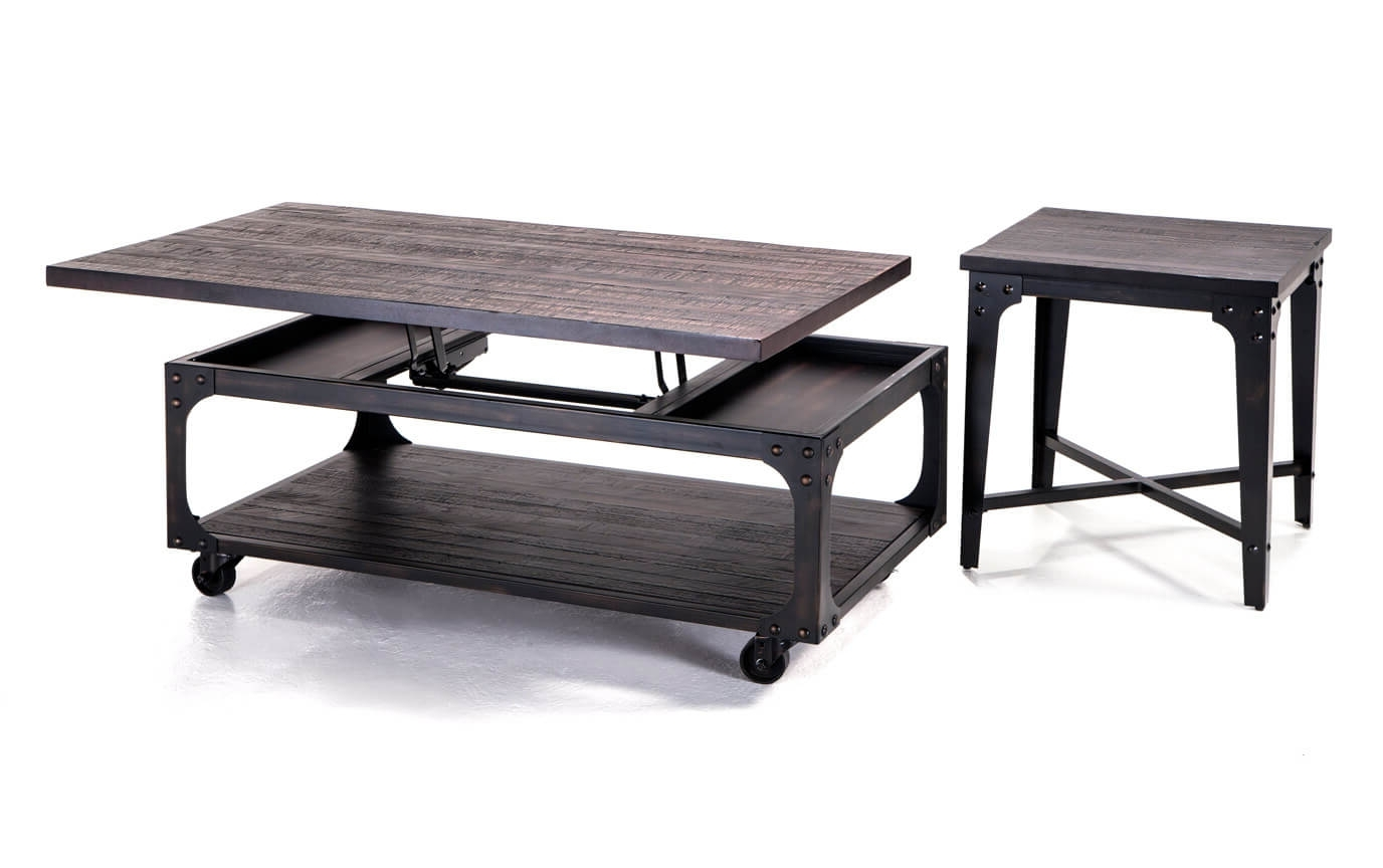 Foundry Coffee Table Set (View 9 of 20)