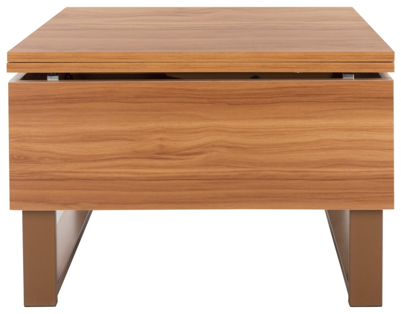Fox2233b Coffee Tables – Furnituresafavieh For Most Popular Laurent Lift Top Cocktail Tables (View 14 of 20)