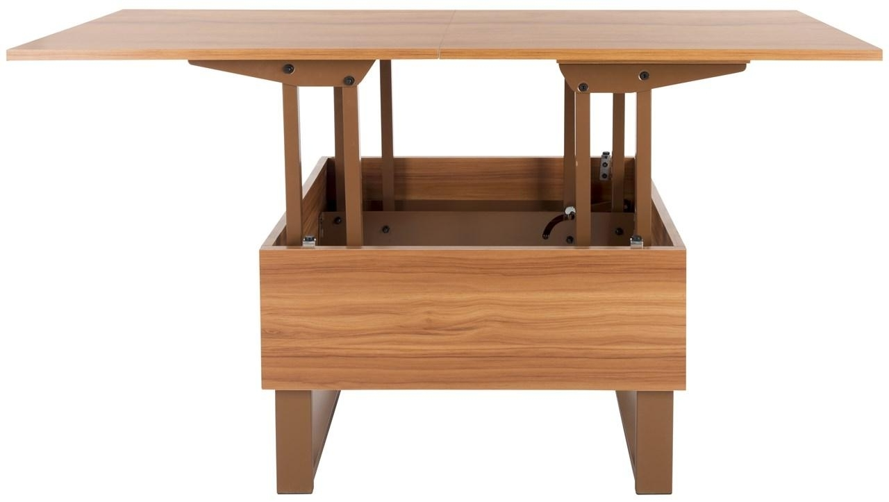 Fox2233b Coffee Tables – Furnituresafavieh For Trendy Laurent Lift Top Cocktail Tables (View 18 of 20)