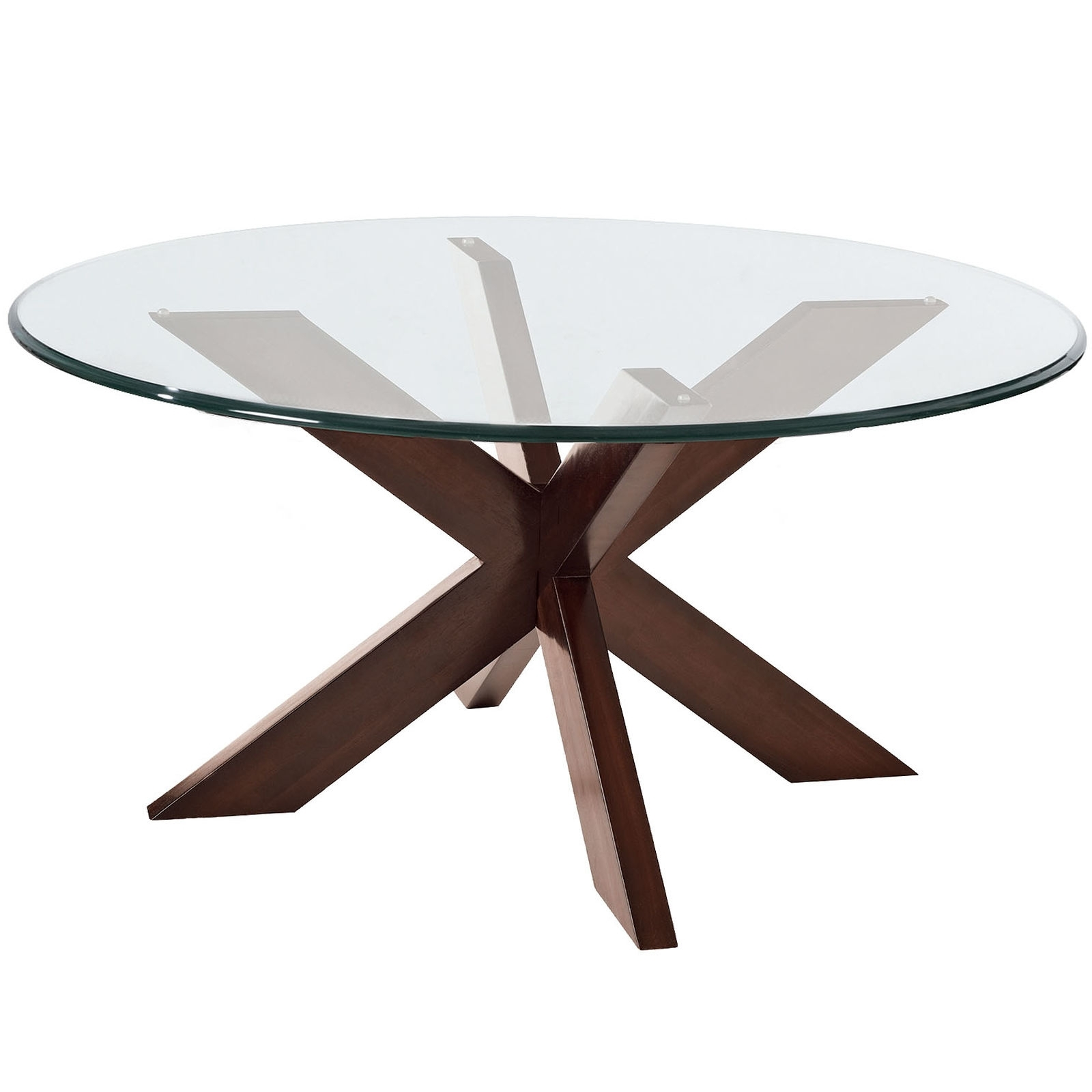 Glass Coffee Table Round – Glass Coffee Table Inside Favorite Torrin Round Cocktail Tables (View 9 of 20)
