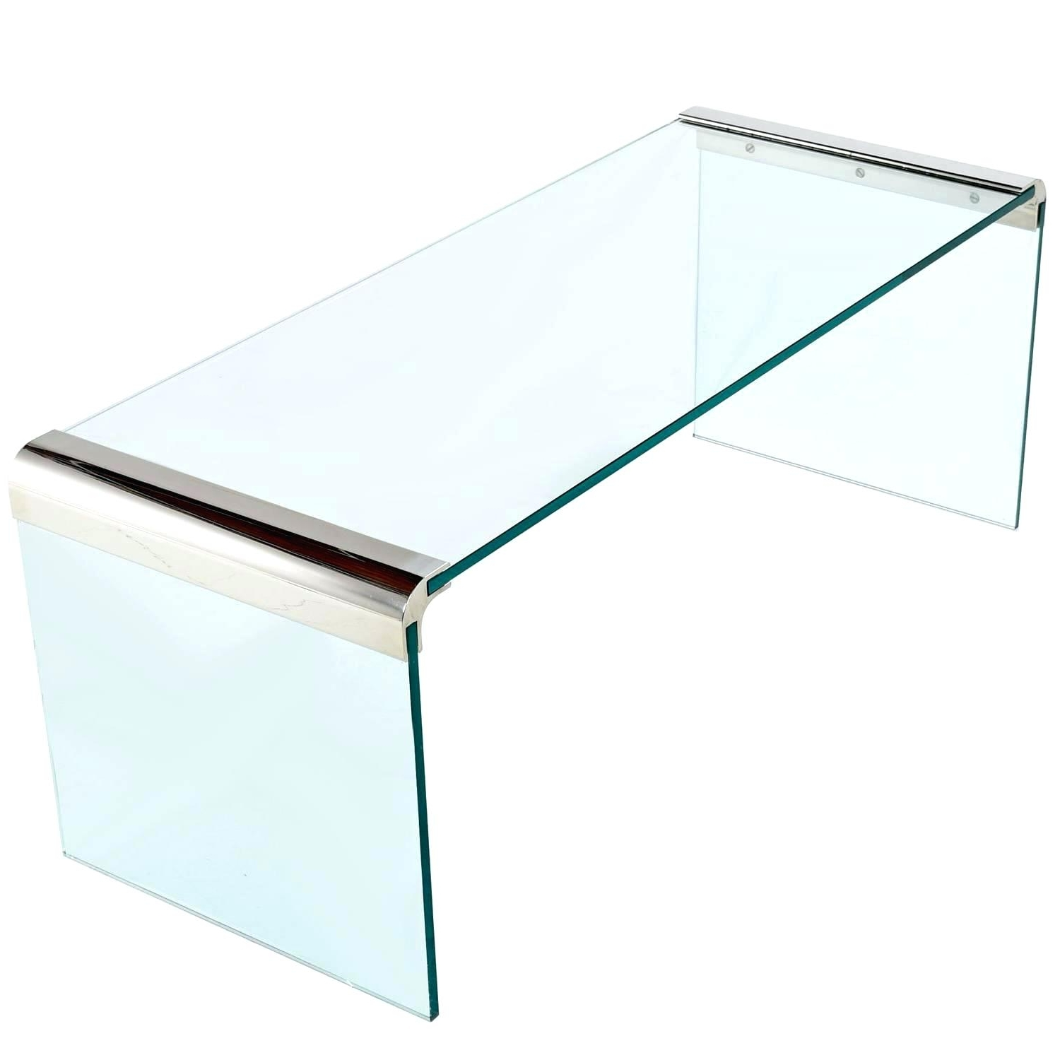 Glass Waterfall Coffee Table Discover Ideas About Square Coffee Regarding Most Current Square Waterfall Coffee Tables (View 5 of 20)