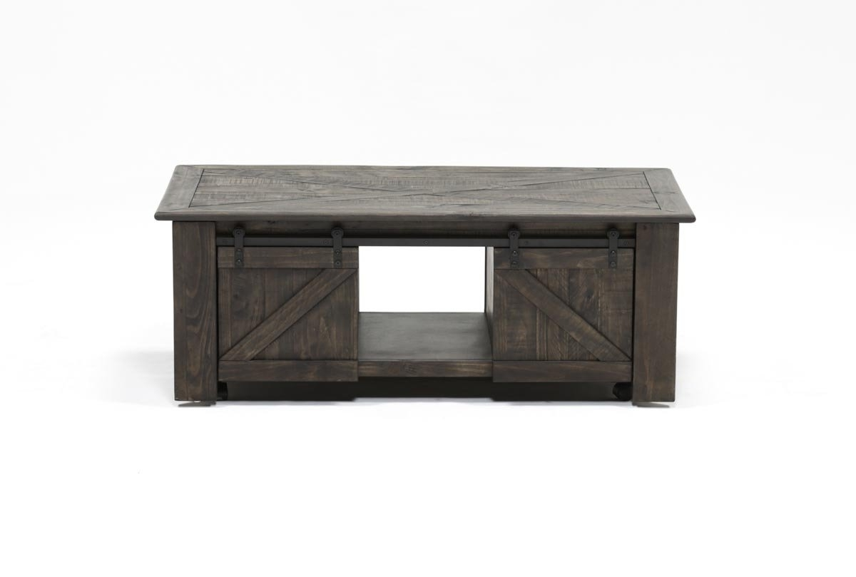 Grant Lift Top Cocktail Table W/casters (View 2 of 20)
