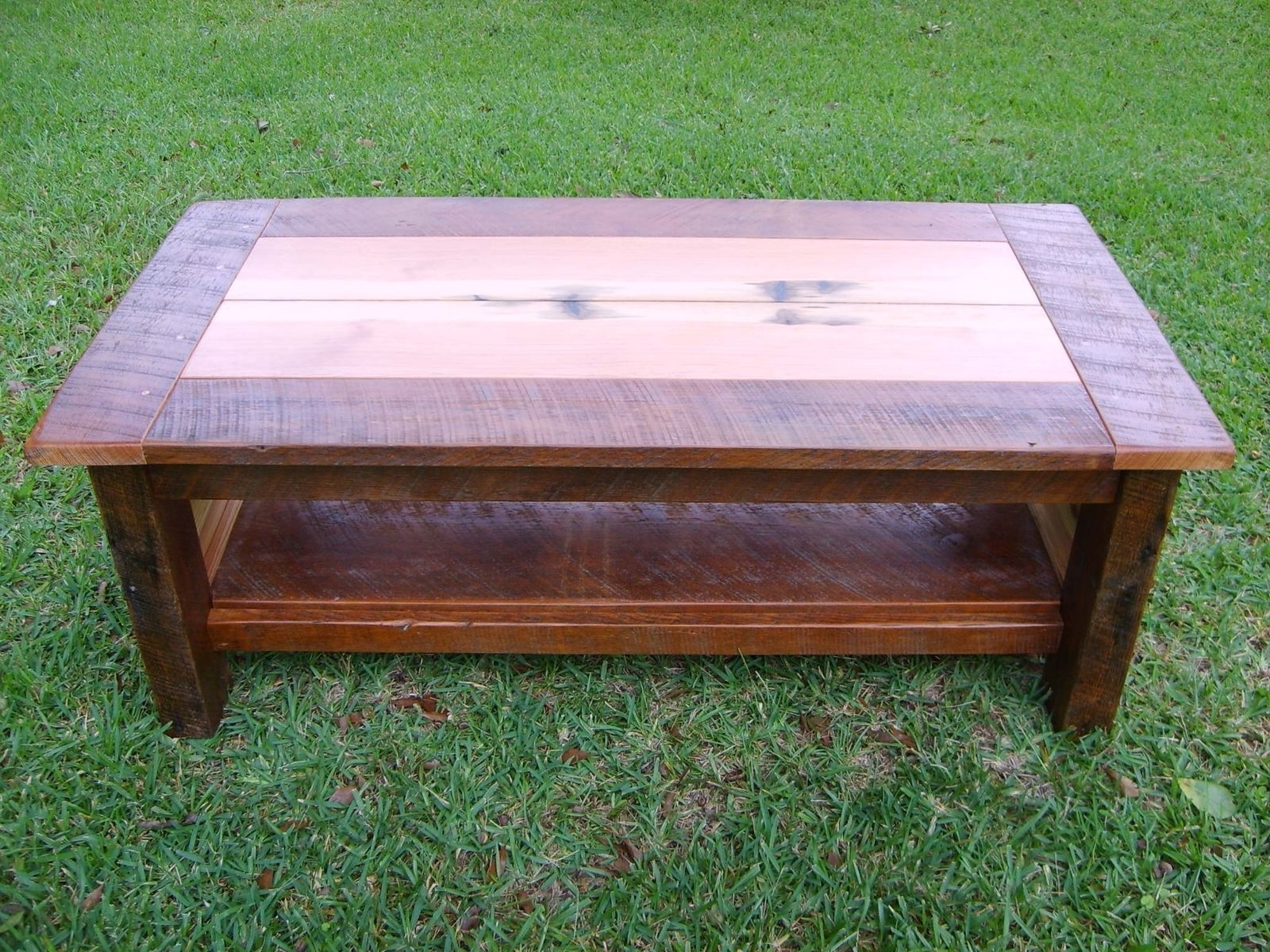 Hand Made Reclaimed Heart Pine Coffee Tablenorm's Custom Inside Widely Used Reclaimed Pine Coffee Tables (View 17 of 20)