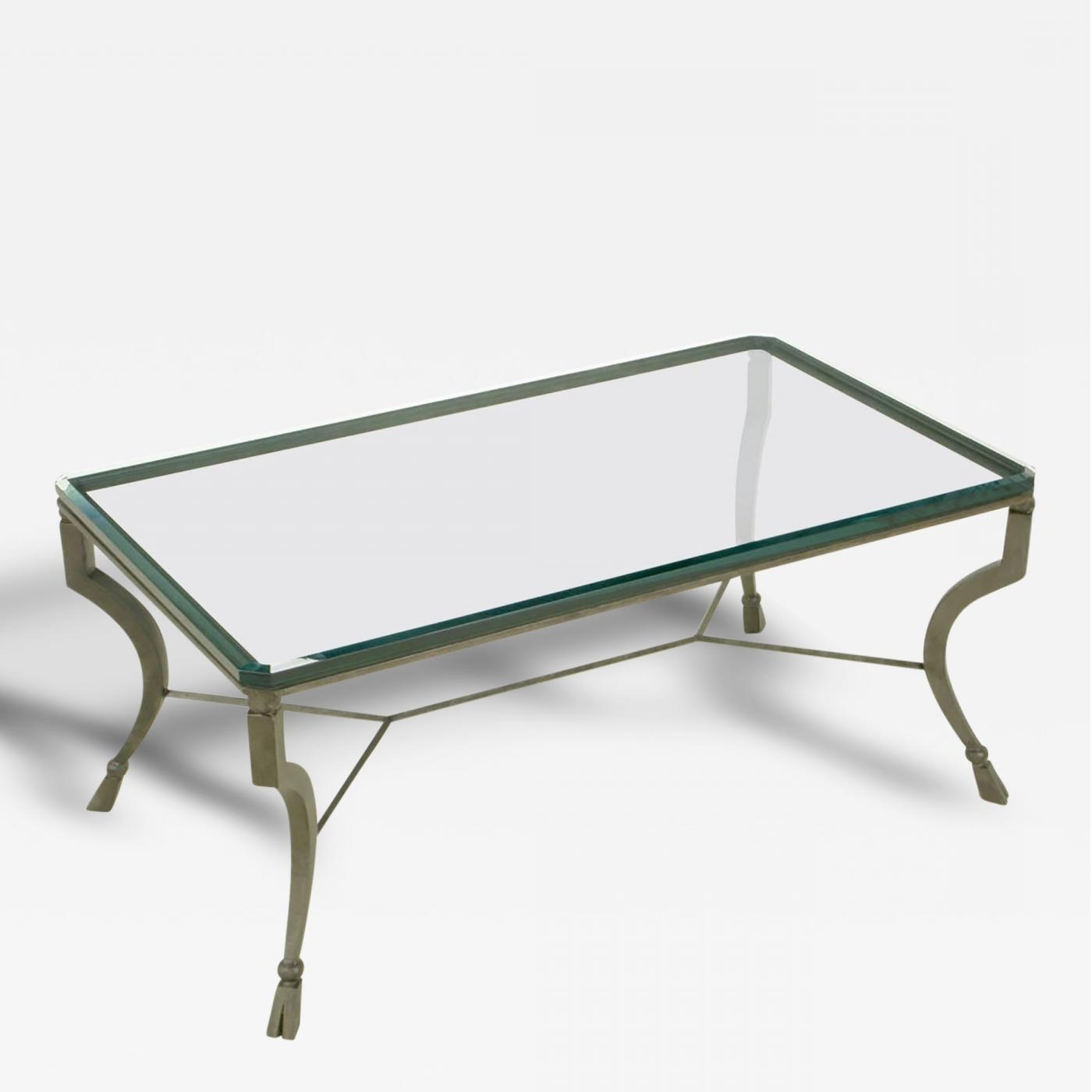 Hand Wrought Iron Stylized Hoof Foot Coffee Table In Gunmetal Grey Throughout 2017 Gunmetal Coffee Tables (View 11 of 20)