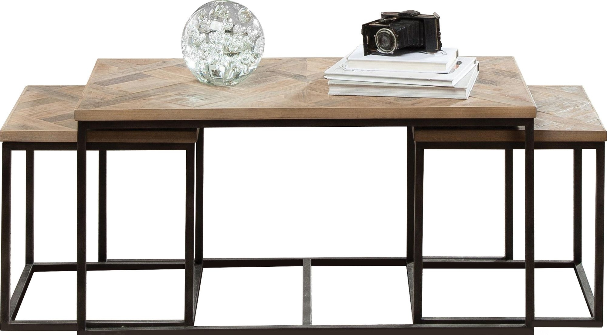 Helton 3 Piece Coffee Table Set (View 15 of 20)