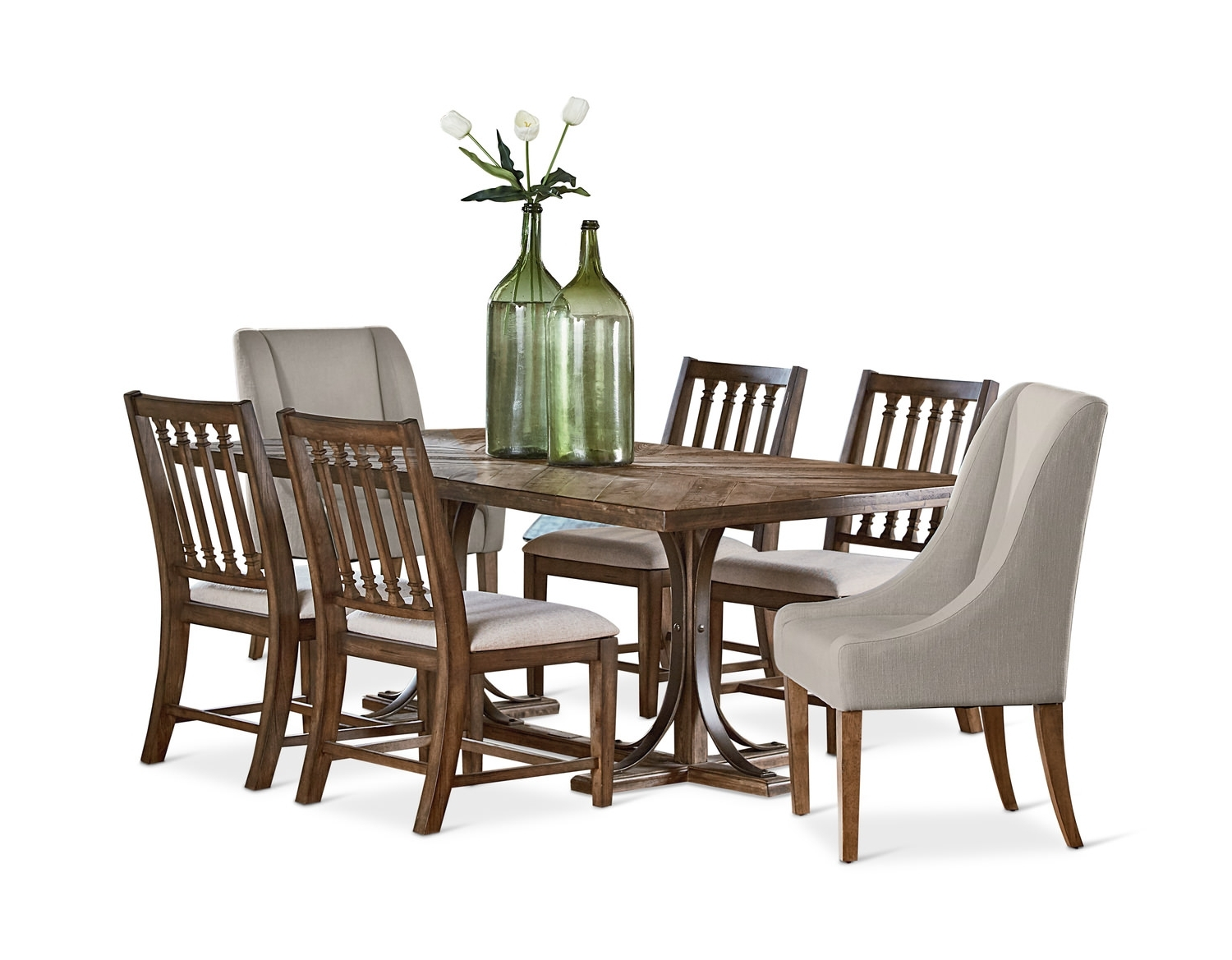 Hom Furniture Intended For Widely Used Magnolia Home Ellipse Cocktail Tables By Joanna Gaines (View 5 of 20)