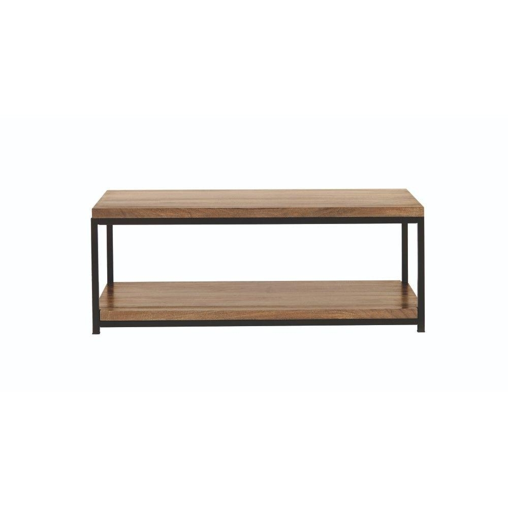 Home Decorators Collection Anjou Natural Coffee Table 8847500210 With Regard To Well Known White Wash 2 Drawer/1 Door Coffee Tables (View 12 of 20)
