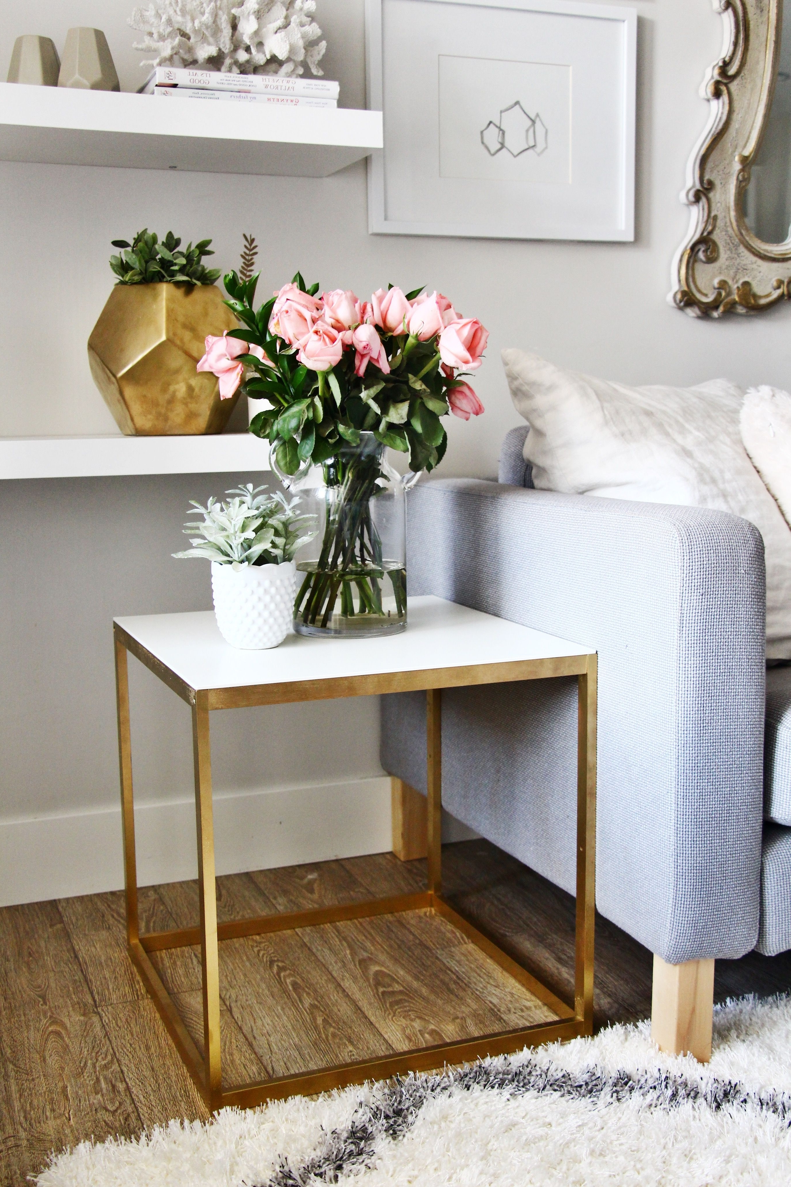 Home Throughout Well Liked Round White Wash Brass Painted Coffee Tables (View 6 of 20)