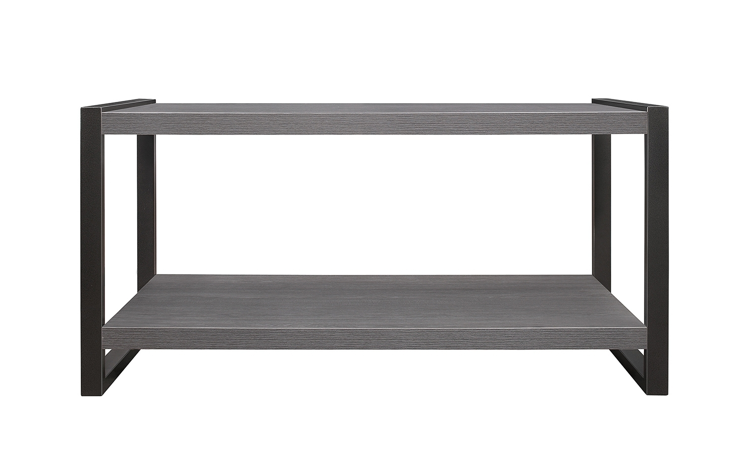 Homelegance Dogue Cocktail/coffee Table – Gunmetal Gray 3606 30 Inside Favorite Gunmetal Coffee Tables (View 7 of 20)
