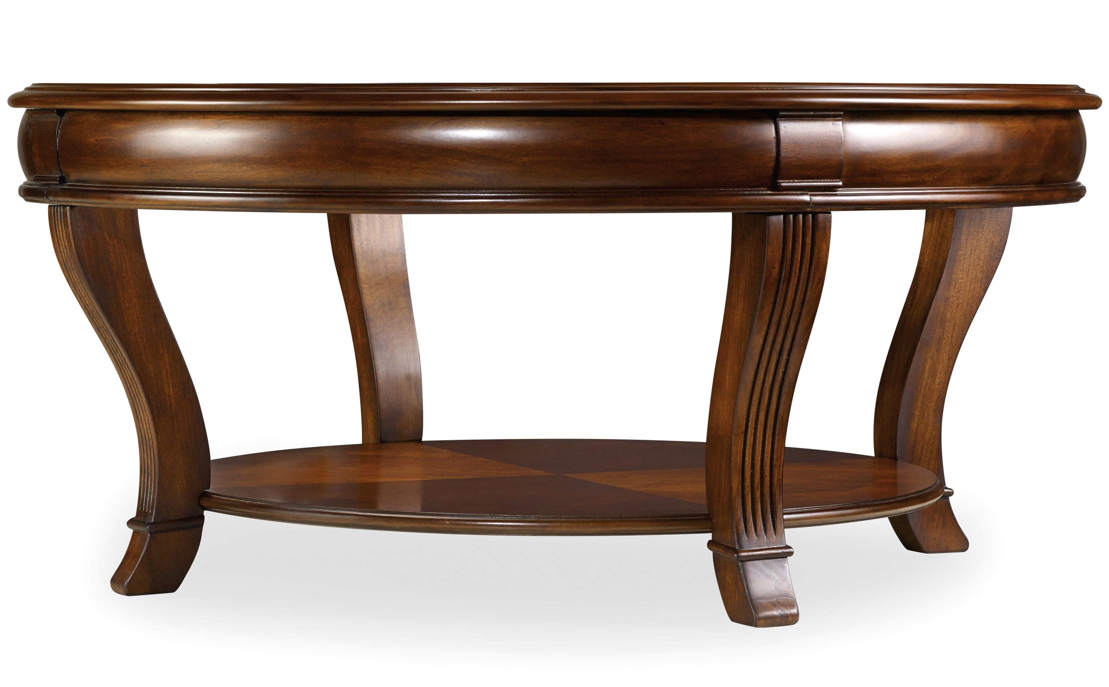 Hooker Furniture Brookhaven Round Cocktail Table – Ahfa – Cocktail With Regard To Well Known Exton Cocktail Tables (View 17 of 20)