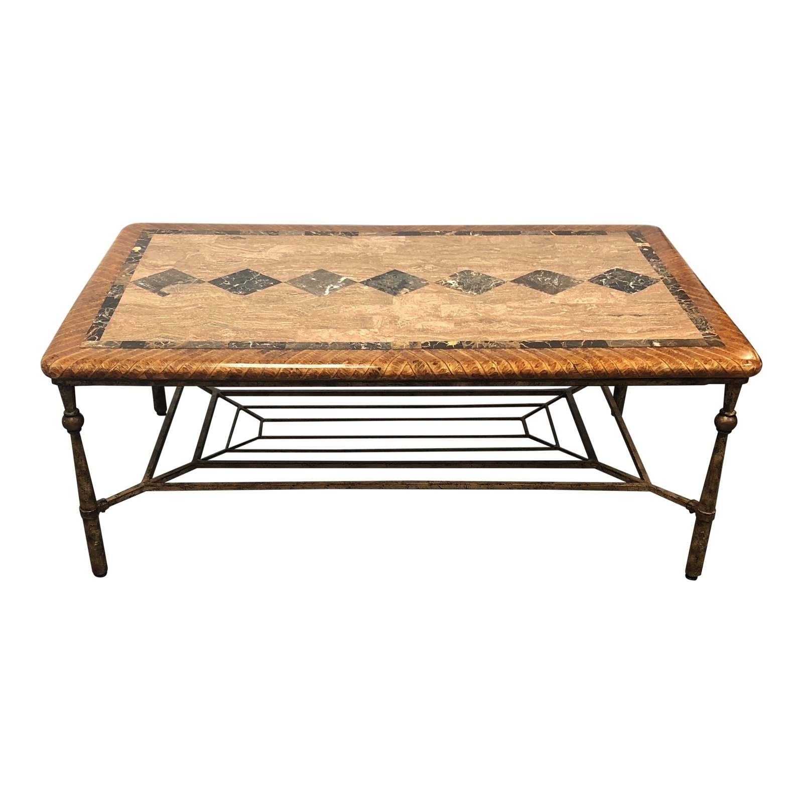 Hooker Furniture Stone Top Coffee Table – Design Plus Gallery Pertaining To Preferred Stone Top Coffee Tables (Gallery 9 of 20)
