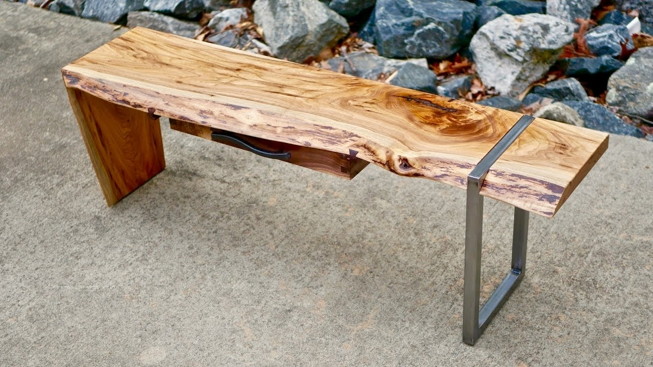 How To Build Pertaining To Well Known Waterfall Coffee Tables (View 10 of 20)