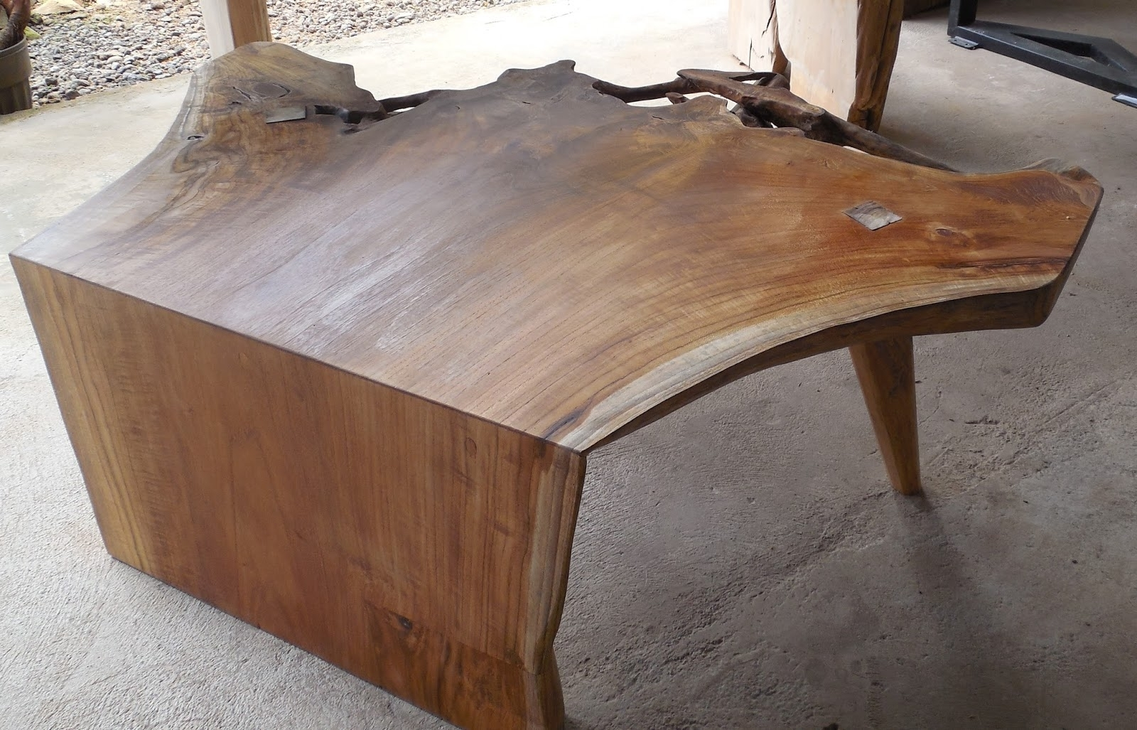 Island Teak Company Intended For Most Up To Date Live Edge Teak Coffee Tables (View 9 of 20)