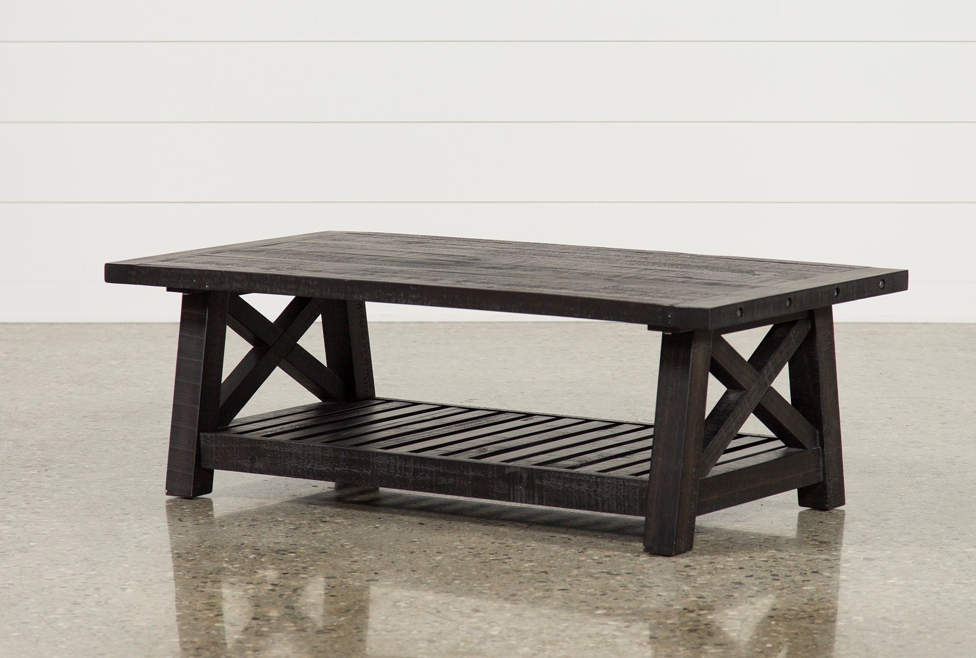 Jaxon Cocktail Table, Black, Coffee Tables (Gallery 4 of 20)