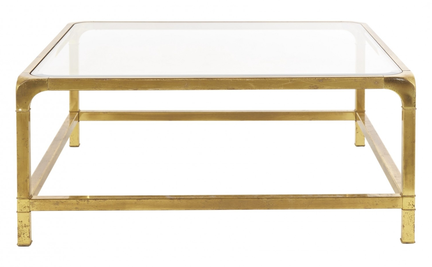 Jayson Home With Most Popular Antique Brass Coffee Tables (View 3 of 20)