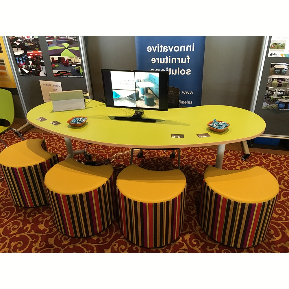 Jelly Bean Table Tilt & Folding Table Rangeabax Kingfisher Pty Ltd Regarding Well Liked Jelly Bean Coffee Tables (Gallery 3 of 20)