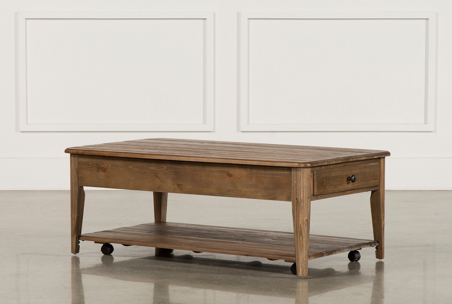 Jonah Lift Top Cocktail Table, Brown, Coffee Tables (Gallery 6 of 20)