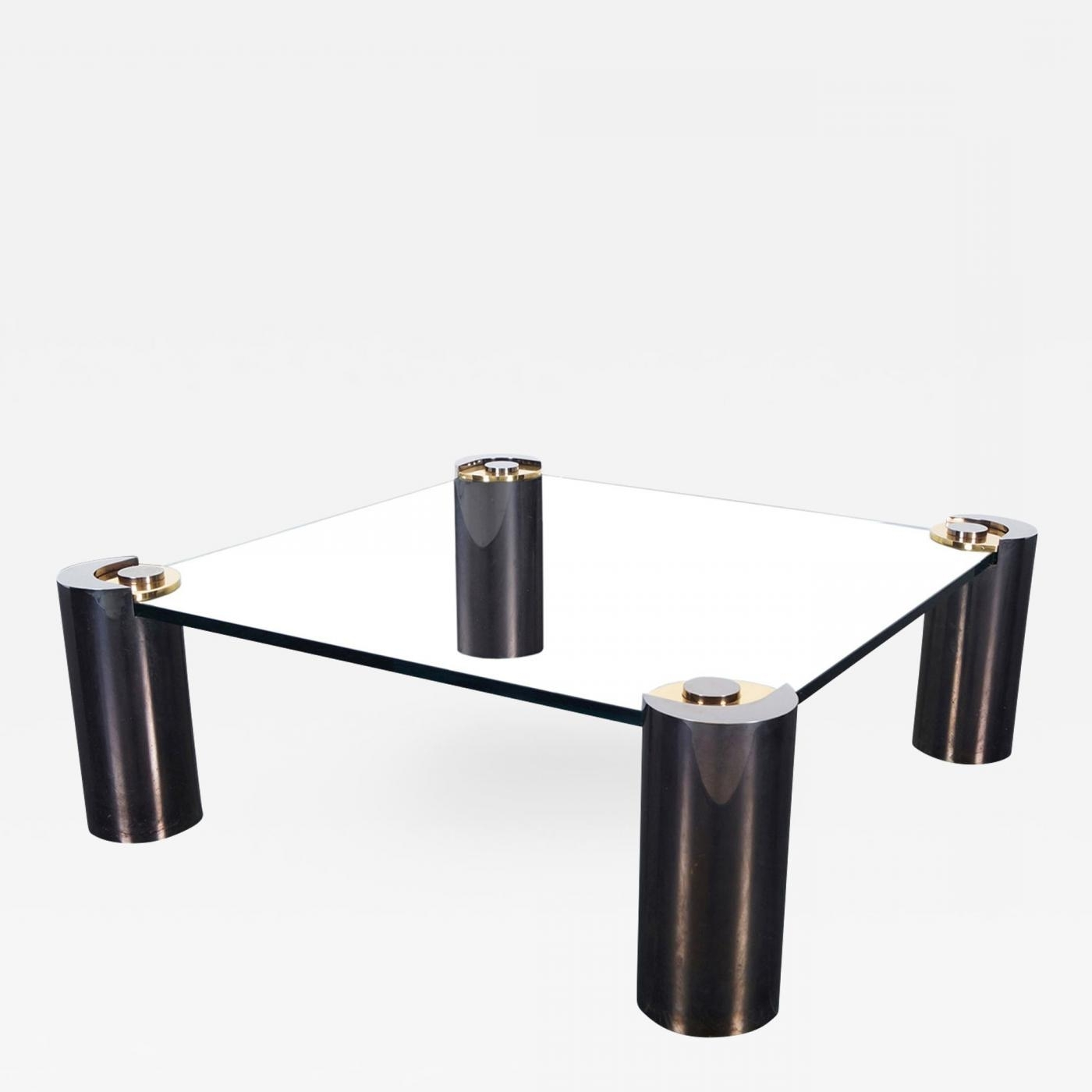 Karl Springer – Rare Vintage Gunmetal Coffee Tablekarl Springer With Regard To 2018 Gunmetal Coffee Tables (Gallery 2 of 20)